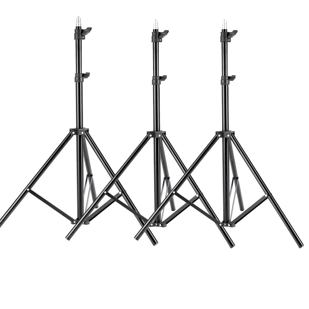 Neewer 3pcs 6ft Photography Tripod Light Stands for Studio K