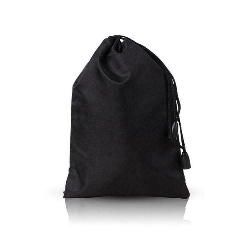Storage Bag Drawstring Nylon Waterproof Dustproof Pouch For