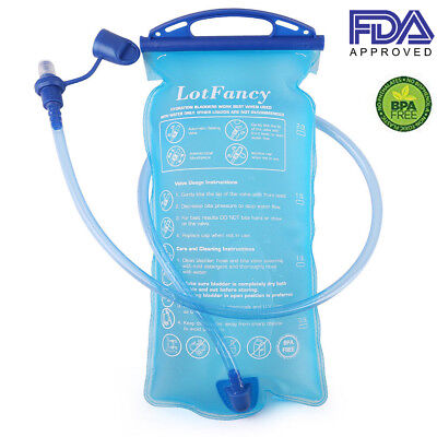 2b4497f2115 Hydration Bladder 2L Water Pack Reservoir Camel Back Replacement Running  Hiking