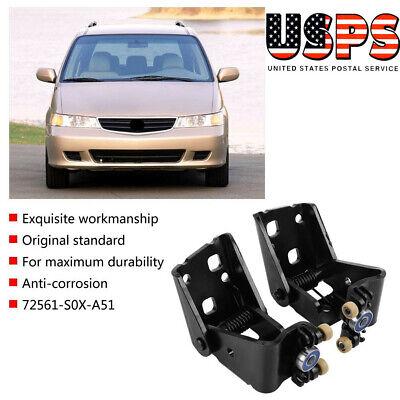 2 pcs Car Left & Right Sliding Door Center Roller for Honda Odyssey 1999-2004