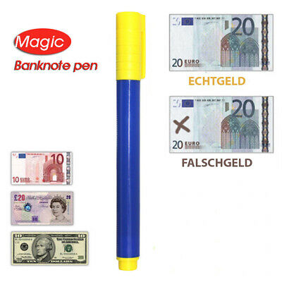 Quick Tester Falschgeld Prüfstift Prüfgerät Geldschein Prüfer Geld Stift