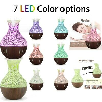 Intelligent LED Humidifier Air Diffuser Aroma Essential Oil Ultrasonic Purifier