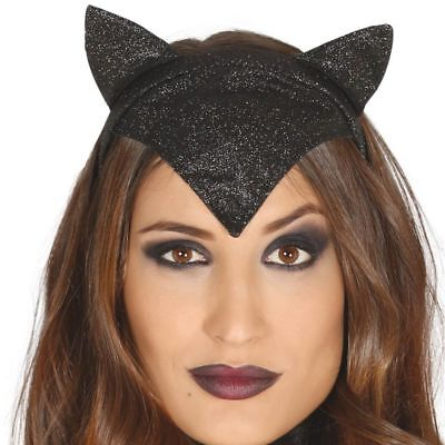 man's Cat Ears Headpiece Hat Halloween Fancy Dress Headdress (Catwoman Hat)