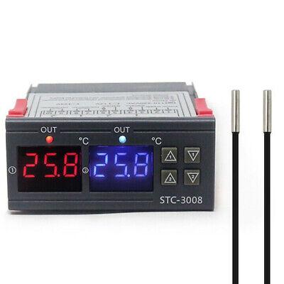 Digital Temperature Controller Temp Sensor Thermostat Control 12v24v110v-220v