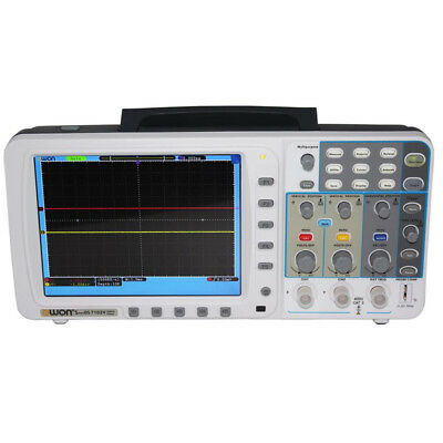 Owon 100mhz Oscilloscope Sds7102v 1gs 8 Lan Vga Free Firmware Upgradeleads