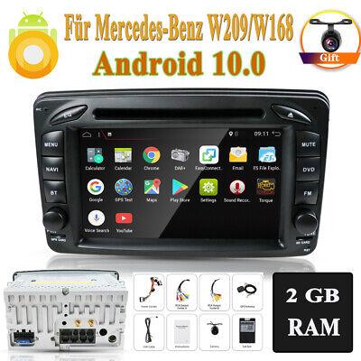 Autoradio Für Mercedes-Benz W168 W209 Vito Viano Android 10.0 Radio GPS NAVI BT