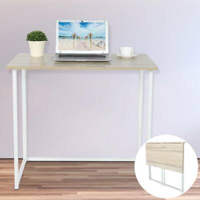 Foldable Computer Desk Folding Laptop Workstation Home Office Study Gaming Desk
