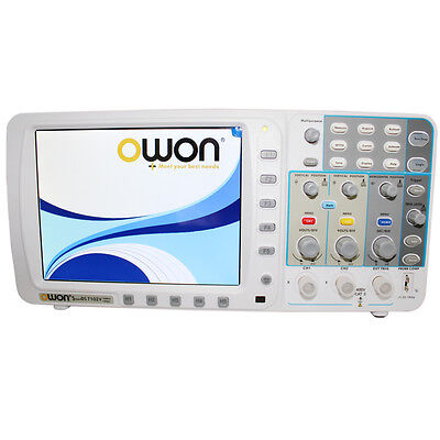 Low-noise Deep Memory Owon 100mhz Oscilloscope Sds7102 Fft 20m 3 Yrs Wa Us Ship