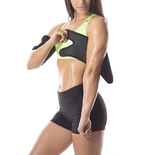 2PC Sweat Sauna Belt Arm Trimmer Shaper Fat Burner Body Cellulite Slimming Band