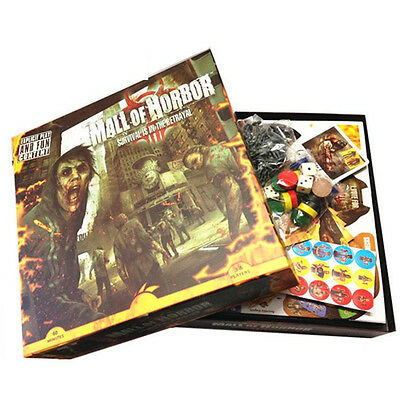 Mall of Horror Board Game for 3-6 Players Zombies Survival Game Card  Game