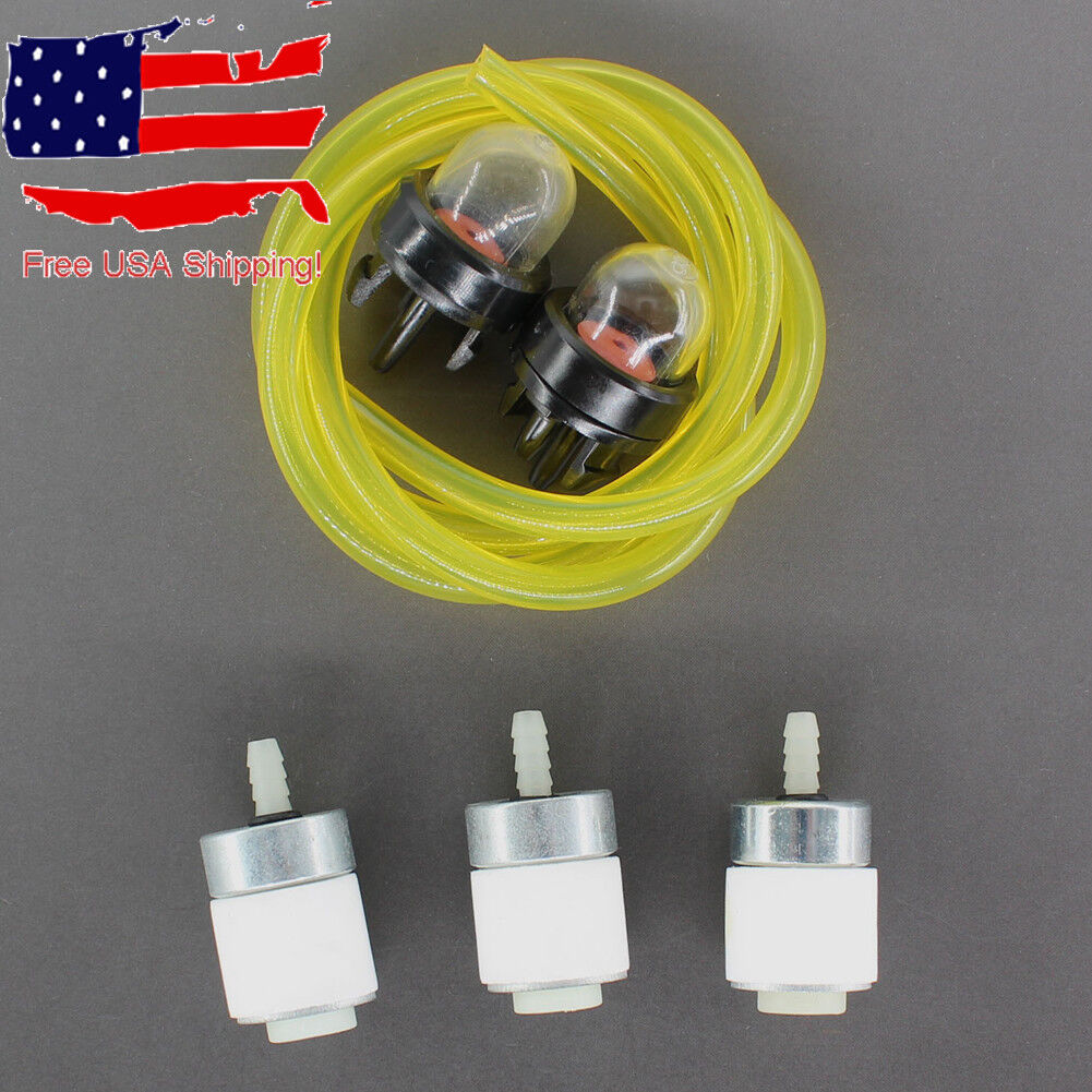 Primer Bulb Air Fuel Filter 4 Ryobi Craftsman Trimmer 682039 683974 791-180350 B
