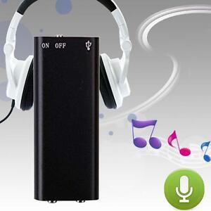 Listen Device Digital Voice Recorder Activated Long Recording Spy Hidden MP3 BA