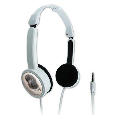 Newfoundland Dog Breed Novelty Travel Portable On-Ear Foldable Headphones