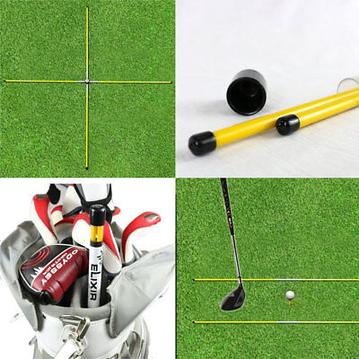 (Golf Alignment Sticks Swing Plane Tour Training Aids Practice Rods Helper Tool)