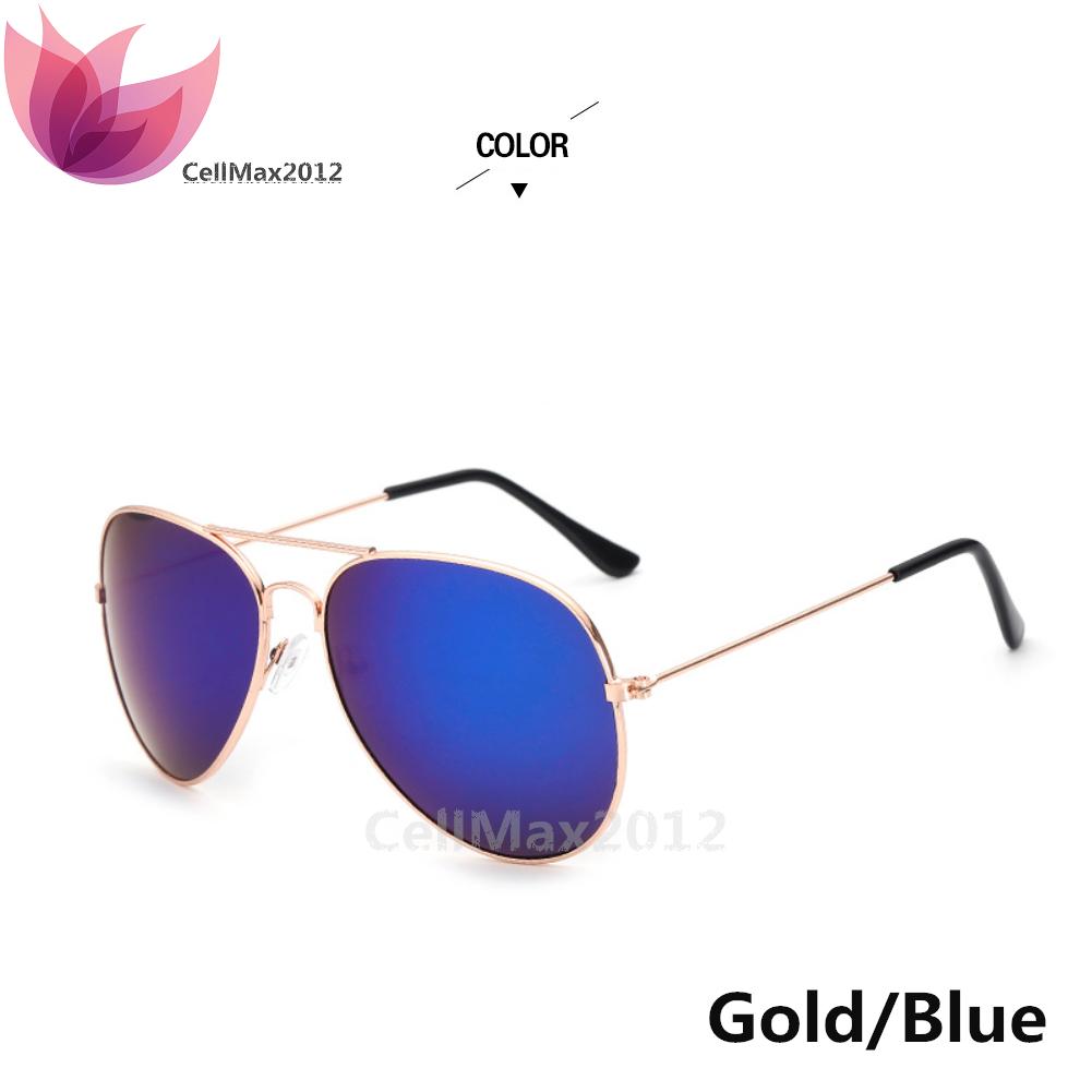 Gold / Blue Lens