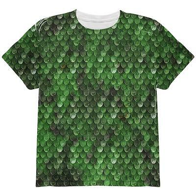 Halloween Wood Elf Scale Mail Armor Costume All Over Youth T Shirt](Wood Elf Halloween Costumes)