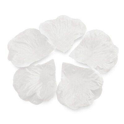 1000pc White Artificial Rose Petals Flower Girl Petals Wedding Party Lot