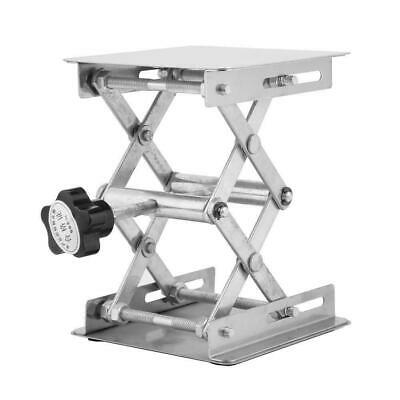 4in Stainless Steel Lifting Platform Laboratory Lifting Stand Scissor Rack Usa