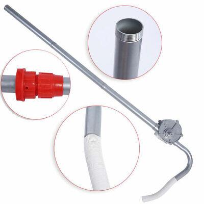 New Manual Hand Crank Rotary Pump Oil Fuel Transfer Drum Barrel Tank 55gallon Us