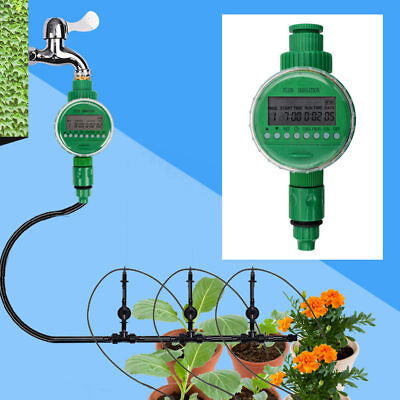 Home Water Timer Garden Electronic Auto Irrigation Sprinkler Controller Program Auto Water Timer