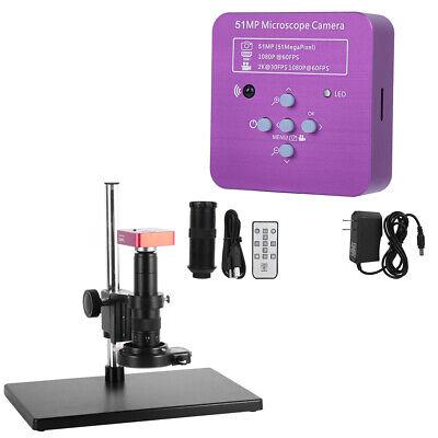 51mp Industrial Electronic Digital Microscope Camera Hdmiusb C Mount Lens