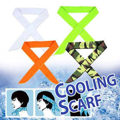 (Bandana ICE SCARF Neck Wrap Cooling Scarf Headband Cool Wear)