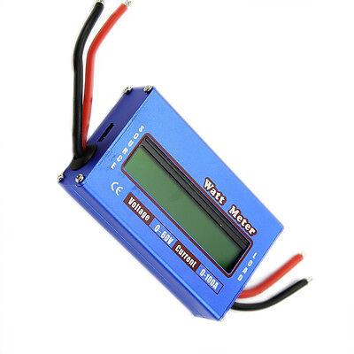 Digital DC combo Meter LCD Watt Power Volt Amp RC Battery charging Analyzer S
