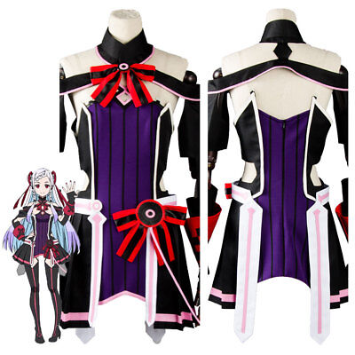 Sword Art Online SAO Yuna Ordinal Scale Movie Cosplay Costume Dress Outfit Suit - Adult Movie Online