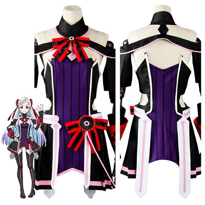 Sword Art Online SAO Yuna Ordinal Scale Movie Cosplay Costume Dress Outfit Suit](Online Movie Adult)