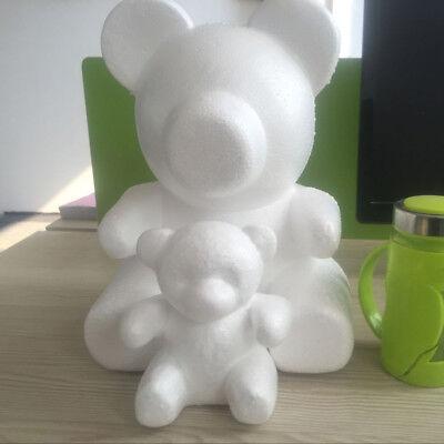 Model Polystyrene Styrofoam Foam Bear Craft Valentine Party Supplies Gift Pretty Valentine Foam Crafts