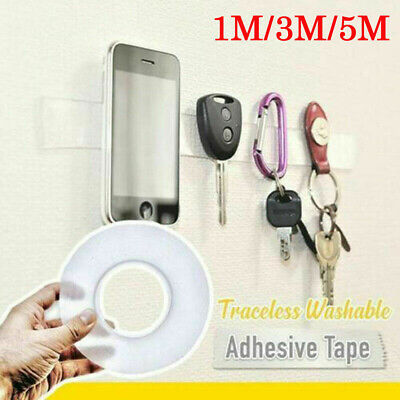 Multifunctional Double-Sided Adhesive Tape Traceless Washable Removable Tapes - Adhesive Double Sided Tape