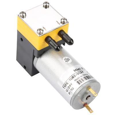 24V Mini Vakuumpumpe Durchfluss Mikropumpe Vakuumgeräte für Luft / Flüssigkeit