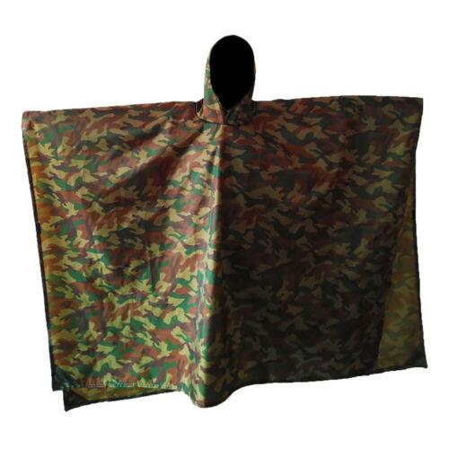 Rain Poncho Waterproof Raincoat with Hoods Rain Poncho Coat