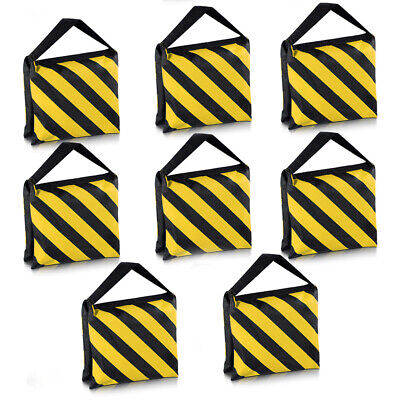 Neewer 8X Black/Yellow Heavy Duty Sand Bag Photography Video Light Stand Sandbag
