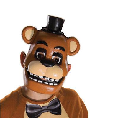 Five Nights At Freddy's 1/2 Mask Child Fazbear Bear PVC Mask FNAF Horror Game - Bear Mask