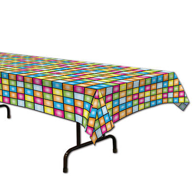 Disco Theme Plastic Table Cover - Rectangle - Disco Theme