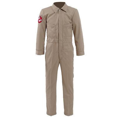 Stranger Things 2 Cosplay Kids Homemade Ghostbusters Jumpsuit Cosplay Uniform - Homemade Ghostbusters Costume