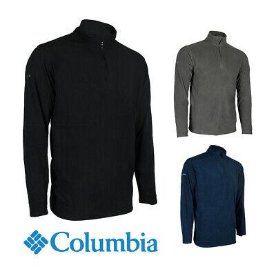 Columbia Men's 6426 Crescent Valley Quarter Zip Fleece Pullover Jacket Activewear