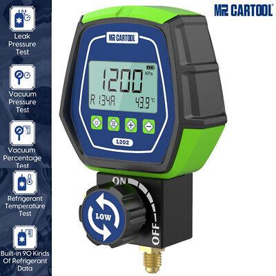 Refrigeration Digital Manifold Gauge Hvac Vacuum Leakage Pressure Temp Test