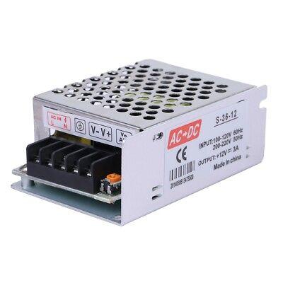 AC 110-220V to DC 12V 3A 36W Volt Transformer Lash Power Supply Converter US