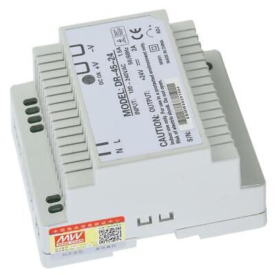 DR-45-24 Hutschienen Netzteil DINRail Schaltnetzteil 45W 24V AC/DC Power Supply
