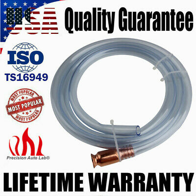 6ft Siphon Self Priming Transfer Jiggler Hose Pump Copper Gasoline Petrol Water