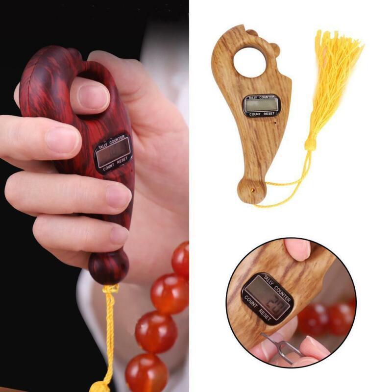 Portable Digital Finger Tasbeeh Misbaha Counter Islamic Tasbih Buddhist Muslim