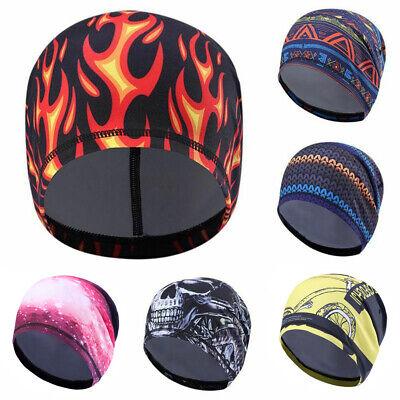 Sports Skull Cap Under Helmet Liner Fleece Cycling Motorcycle Running Beanie Hat
