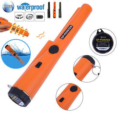 Waterproof Handheld Pinpointer Pin Gp-pointer Probe Metal Detector Led Lights