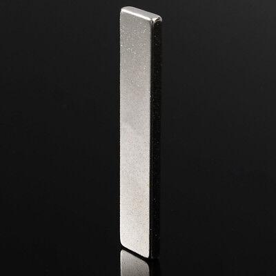 1pc 50x10x3mm N35 Super Strong Cuboid Block Strip Rare Earth Neodymium Magnet So