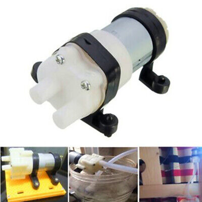 Dc6-12v R385 Aquarium Fish Tank Round Water Air Dc Diaphragm Pump