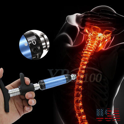 6 Level Chiropractic Adjusting Tool Therapy Spine Activator Correction Massager