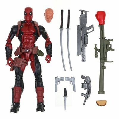 "6"" 16CM Deadpool Figure Marvel Legends X-Men Action Figure Toys Gifts Collection"