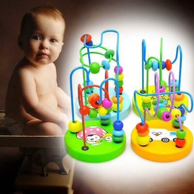 Baby wooden toy Mini around the beads Wire maze Colorful Educational game Kid JG](Baby Games Baby)